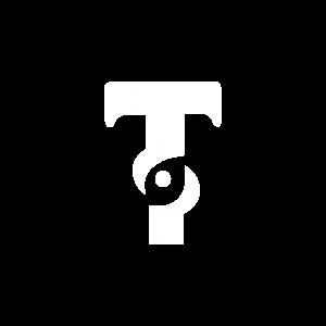 Cerveza Artesanal Tempo logo en blanco